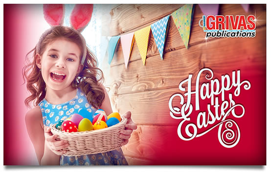 Happy Easter from Grivas Publications!